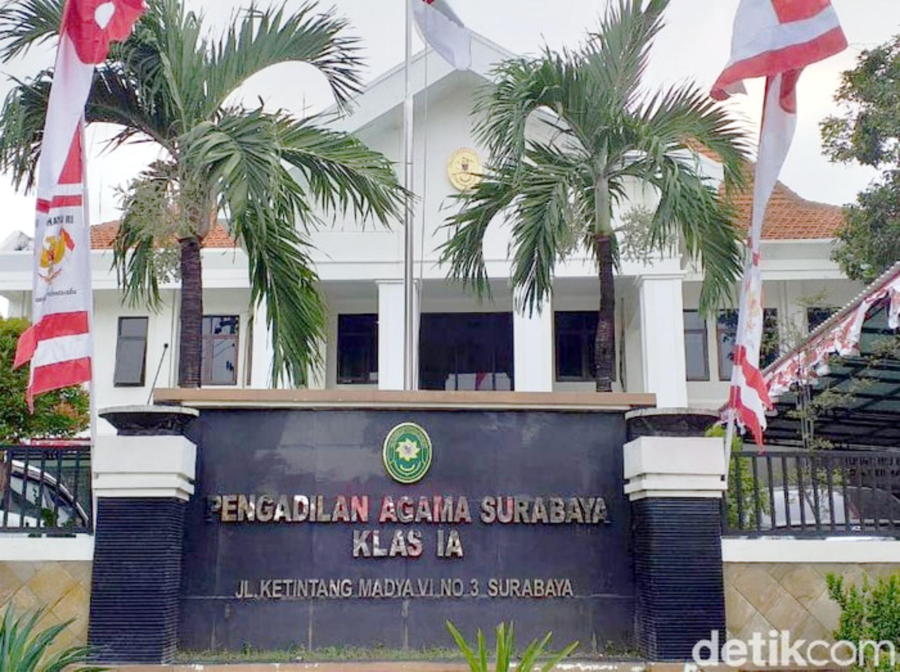 Pengurusan Cerai/Hak Asuh/Gono-Gini di Pengadilan Agama Surabaya
